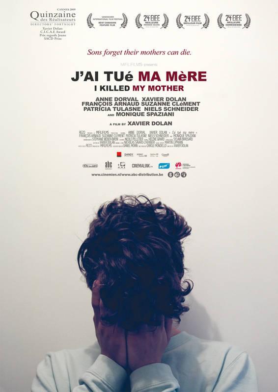 Poster J'ai Tué Ma Mère