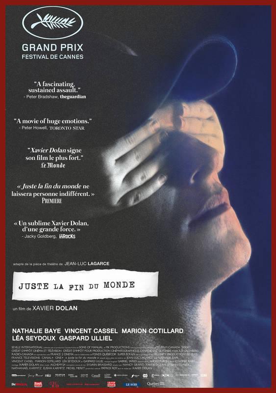 Poster Juste la Fin du Monde