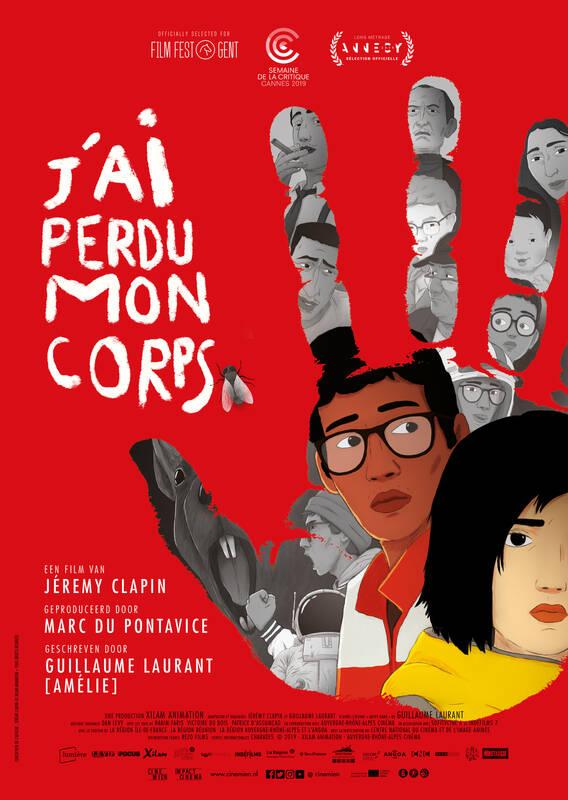 Poster J'Ai Perdu Mon Corps