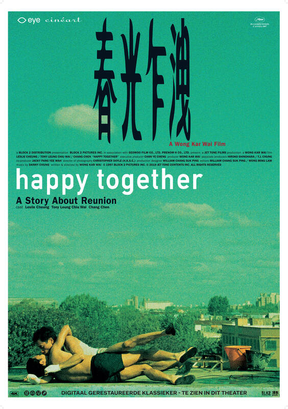 Poster Happy Together (with Dutch subtitles)