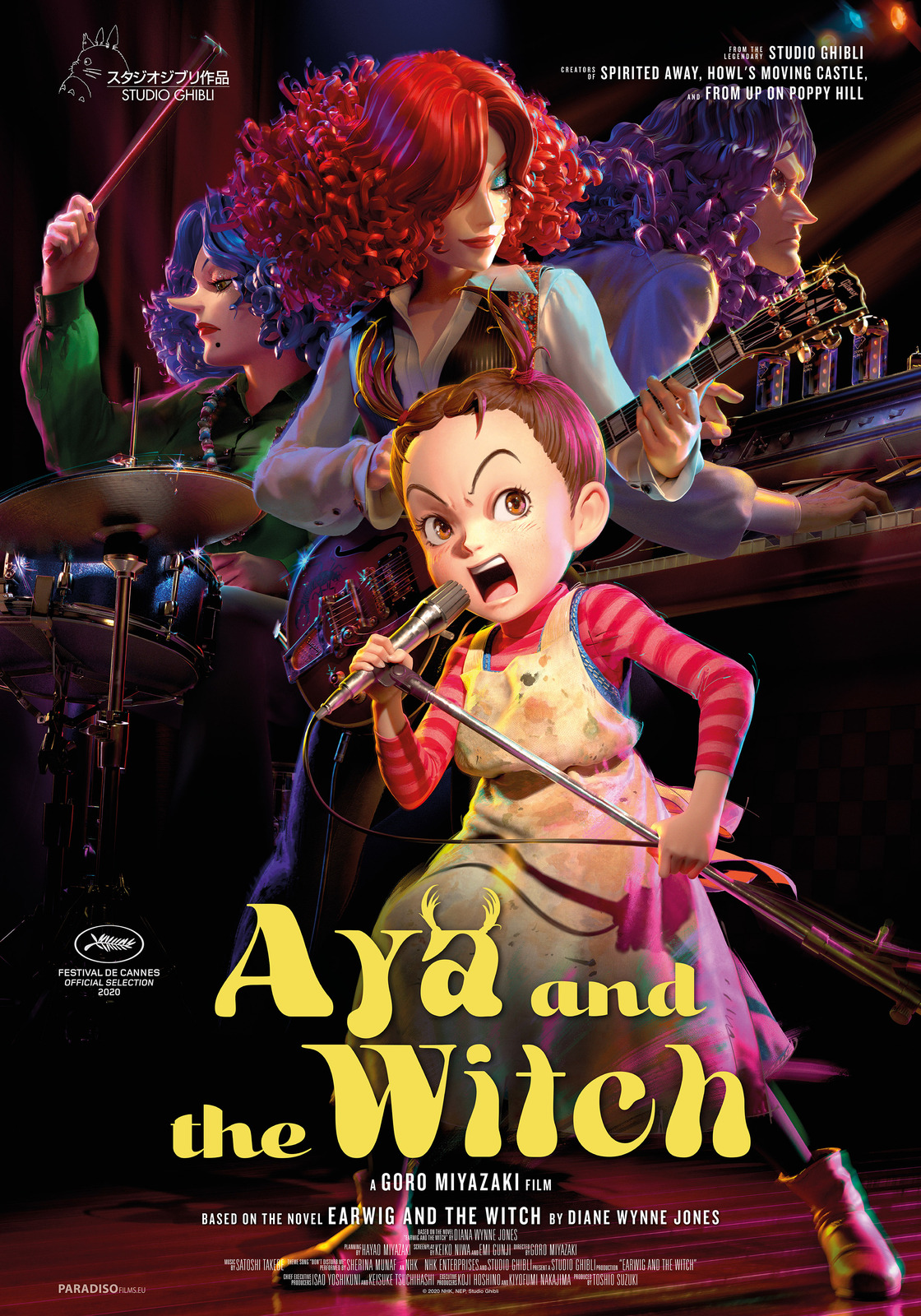Aya And The Witch (with Dutch subtitles)