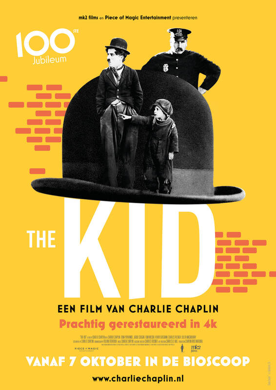 Poster The Kid - 100th anniversary