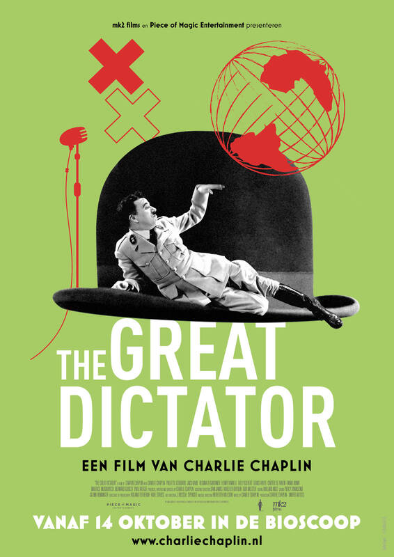 Poster The Great Dictator