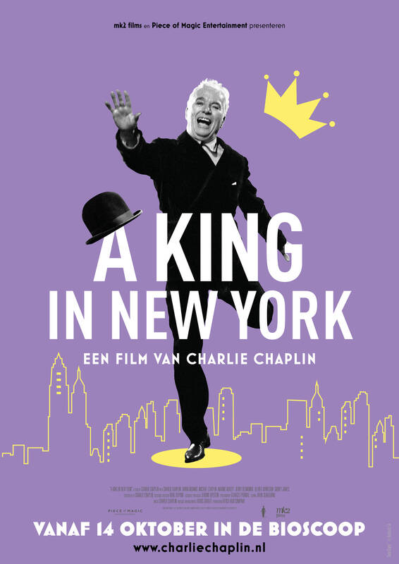 Poster A King In New York