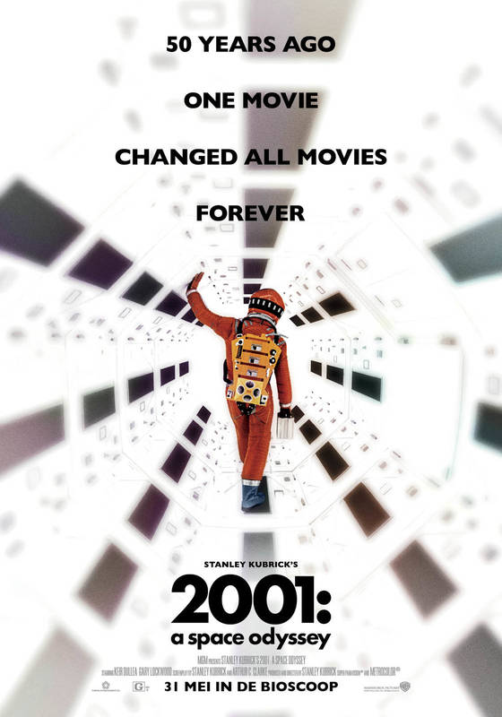 Poster 2001: A Space Odyssey (50th Anniversary)